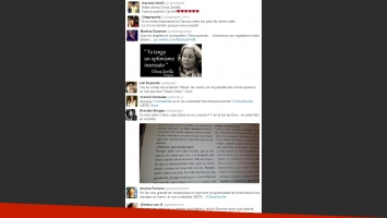 Twitter se colmó de mensajes para despedir a China Zorrilla (Foto: Twitter)