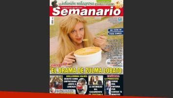 El drama de Zulma Lobato, en la tapa de la revista Semanario.
