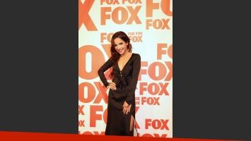Brenda Asnicar en el lanzamiento de Cumbia Ninja 2. (Foto: prensa FOX)