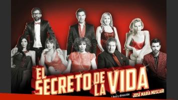El elenco a pleno de El secreto de la vida (Fotos: Faroni Producciones).