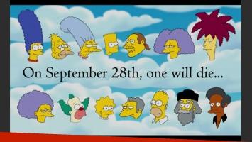 ¿Quién morirá? El anuncio de la baja en Los Simpson. (Fuente: Web)