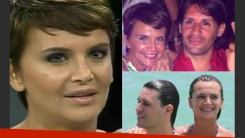 Amalia Granata y el fin del amor con Juan Pablo Dematteis. (Fotos: Web)