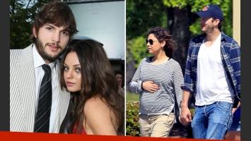 Ashton Kutcher y Mila Kunis fueron padres de una nena. (Foto: Web)