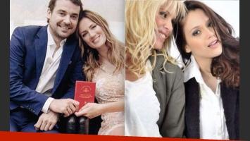 ¿Qué famosas no podrán ir al casamiento de Paula Chaves y Pedro Alfonso? (Foto:Gente y Web)