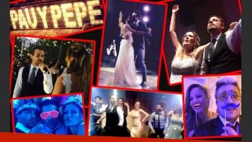 Las fotos de la intimidad de la fiesta de boda de Paula Chaves y Pedro Alfonso. (Foto: Twitter)