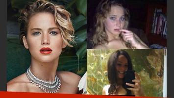 Jennifer Lawrence habló del escándalo de sus fotos hot (Fotos: Vanity Fair y Web).