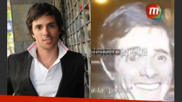 Robertito Funes, víctima de una cámara oculta (Fotos: Web y Twitter)