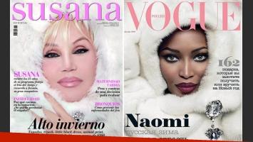 Revista Susana y Vogue de diciembre de 2008 (Fuente:Web)