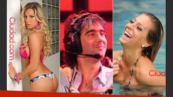 Noelia Marzol y Federico Hoppe, ¿juntos? (Fotos: archivo Ciudad.com y Web).