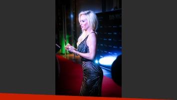 Luciana Salazar, impactante en la cena de gala de Luis Miguel. (Fotos: Fenix Entertainment Group)