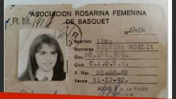 Silvina Luna, a los 10 años. (Foto: @SilvinaLunaWeb)
