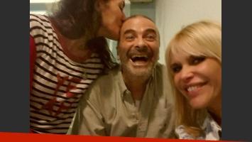 Atilio Veronelli y Nazarena Vélez, felices y saludables. (Foto: @veleznazarena)