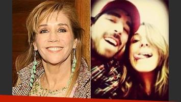 Marcela Tinayre, suegra canchera. (Fotos: Web y Twitter)