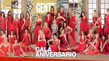 Todas las invitadas a la gran gala de Gente (Foto: Revista Gente).