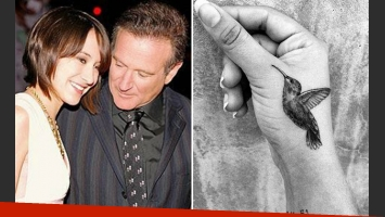 El emotivo tatuaje de la hija de Robin Williams. (Foto: Instagram)