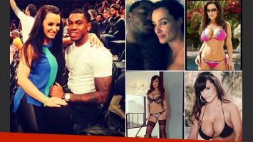 La estrella XXX Lisa Ann y el jugador de fútbol americano Justin Brent. (Foto: Instagram)