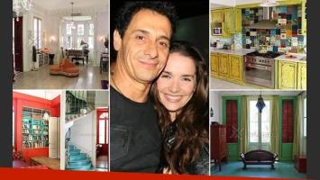 La majestuosa mansión palermitana de Natalia Oreiro y Ricardo Mollo. (Foto: Web)
