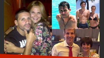 Juan Pablo Dematteis, el ex de Granata, habló sobre el escándalo con Redrado (Fotos: Twitter).