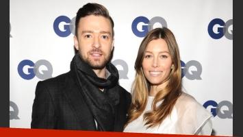 Justin Timberlake y Jessica Biel. (Foto: Web)