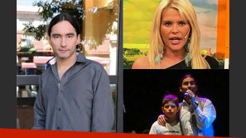 Daniel Agostini habló de su relación con Nazarena Vélez y su hijo. (Fotos: Web)
