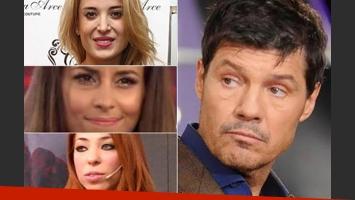 Las reacciones de tres de las finalistas de Bailando tras los dichos de Tinelli. (Fotos: Web)