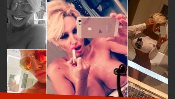 Victoria Xipolitakis y las infartantes selfies que incineraron Twitter. (Foto: Twitter)