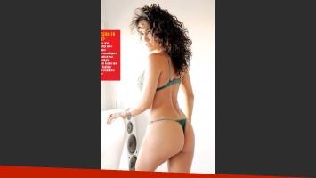 Nieves Jaller, bomba sexy... ¡y picante! (Foto: revista Paparazzi)