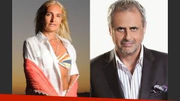 Silvia D Auro le respondió a Jorge Rial (Foto: Web)