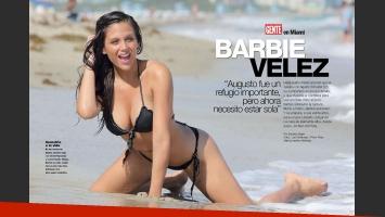 Bárbara Vélez, una diosa soltera. (Foto: revista Gente)