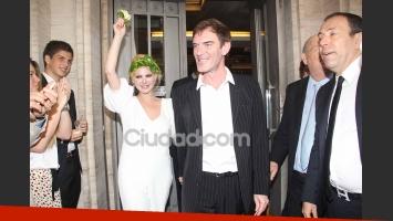 Las fotos del casamiento por Civil de Esmeralda Mitre y Darío Lopérfido. (Foto: Movilpress)