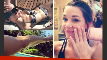 Micaela Breque, una diosa en bikini al calor del sol. (Foto: Instagram)