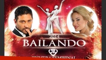 La primera semifinal del Bailando: ¿quién querés que siga, Jésica Cirio o Hernán Piquín?