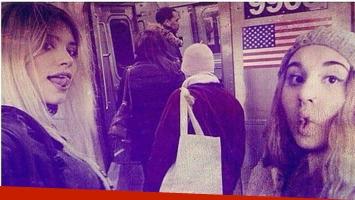 Eva de Dominici y su álbum de viaje en la fría Nueva York. (Foto: Instagram)