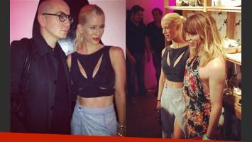 Nicole Neumann presentó su línea de indumentaria (Fotos: Instagram).