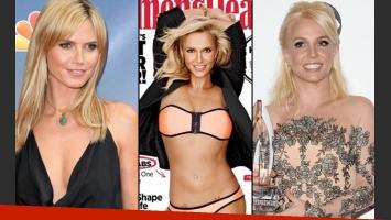 Britney Spear parecida a Heidi Klum en la portada de Women s Health. (Foto: web)