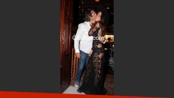 Emilia Attias y el Turco Naim, felices con su nuevo proyecto (Fotos: Movilpress).