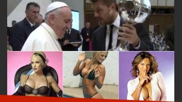 Del Papa a las politiqueras: repaso del 2014 que se va. (Fotos: archivo Web)