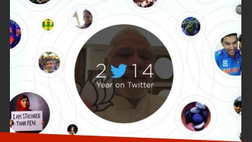 El repaso de 2014 en Twitter. (Imagen: web)