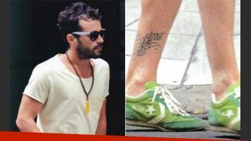 Nicolás Cabré se hizo un nuevo y significativo tatuaje dedicado a su hija Rufina (Foto: Paparazzi)