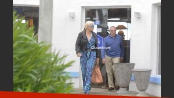 Susana Giménez, canchera en Punta del Este. (Foto: PC3)