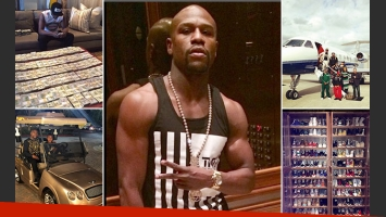 Floyd Mayweather Jr. y las postales de su multimillonaria vida. (Foto: Instagram)