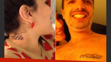 Andrea Rincón y Ale Sergi, cuando se juraban amor eterno. (Foto: @andrearincontop)