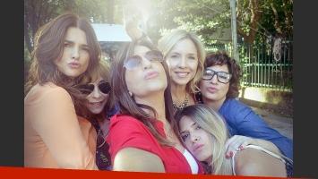 Guapas: Araceli González, Inés Estévez,  Mercedes Morán, Carla Peterson, Isabel Macedo, Muriel Santa Ana. (Foto: Pol-ka)