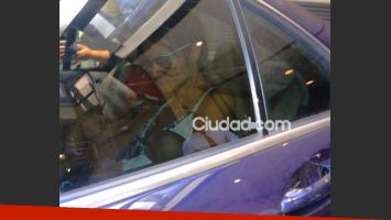 Paula Morales y su hijo, Valentino, recibieron el alta médica (Foto: Movilpress)