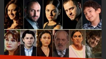 Los personajes de Las mil y una noches. (Fotos: Web)