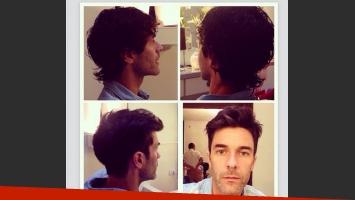 Mariano Martínez se prepara para Esperanza Mía: mirá su nuevo look (Foto: Instagram)