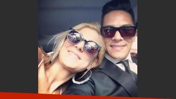 Juani Martínez y su mujer Catalina. (Foto: Instagram)