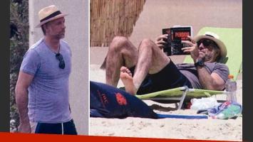 Horacio Cabak y sus vacaciones familiares en Punta del Este. (Foto: revista Gente)