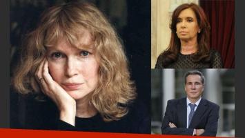 Mia Farrow opinó sobre el caso Nisman. (Imagen: web)