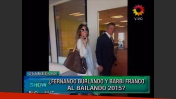 Barby Franco y Fernando Burlando, ¿al Bailando 2015? (Foto: captura TV)